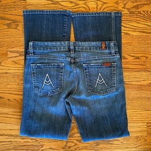 7 For All Mankind 'A' pocket Jeans Sz 29 EUC